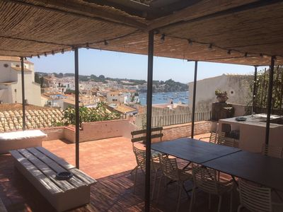 Photo for CADAQUES LARGE HOUSE - EXCEPTIONAL TERRACE WITH SEA VIEW