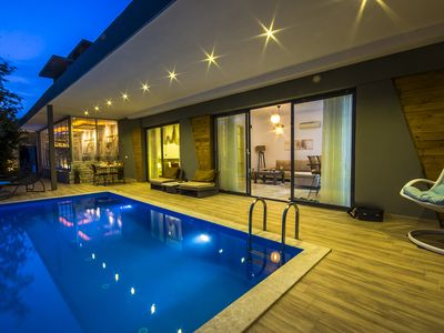 Photo for Stunning Honeymoon Villa with Secluded Heated  Pool and Magnifient Views