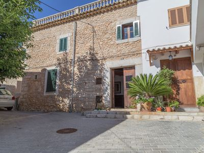 Photo for Authentic village house with garden and private pool in old center of Lloseta