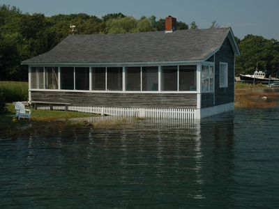 Photo for Kennebunkport Waterfront Cottage - Ocean View
