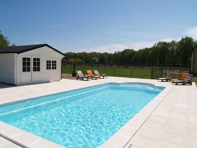 Photo for Beautiful 4 * estate with tennis and heated pool