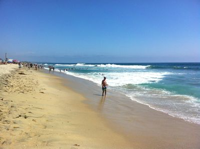 You can walk for miles until you feel blissful from the waves at Tamarack beach, our local beach.