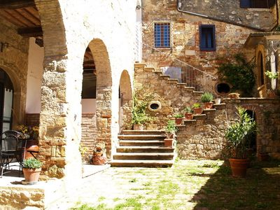 Photo for Arianna apartment in a country village near to San Gimignano and Volterra