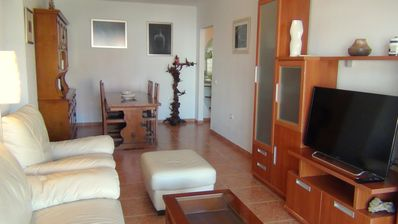 Photo for APARTMENT 4 PEOPLE, BEACH, SEA VIEWS, POOL, WIFI, shopping,