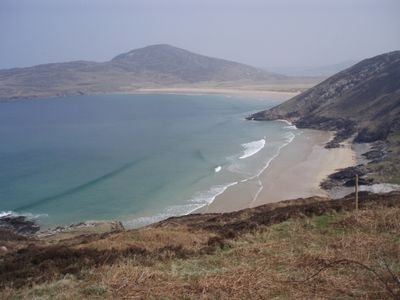 A view of Tra na Rossan beach from Atlantic Drive
