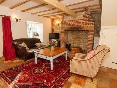 Photo for A three-bedroom cottage renovated to a very high standard in central Thornham.