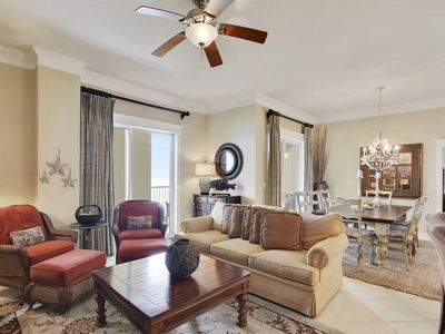 PENTHOUSE CONDO IN PCB, LUXURY FURNISHINGS W/ ENDLESS VIEWS OF THE GULF!!