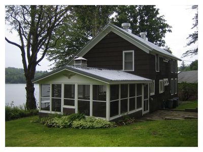 Photo for Lakefront Cottage - Incredible Summer Vacation Spot