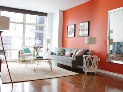 Photo for Times Square Oasis - HUGE, Quiet, SUNNY Apartment - Private Balcony