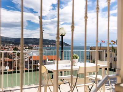 Photo for Panorama Two-Room Apartment - With View - Diano Marina