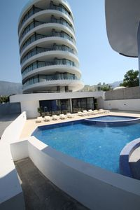 Photo for Modern, luxury resort apartment, perfect city position and close to the sea