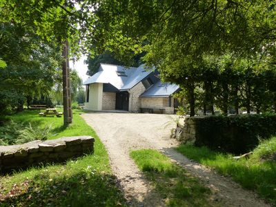 Photo for RESTARY DISCO 6 to 13 July, PROMO September Moulin river view, sauna, steam room