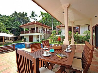 Photo for Summitra Pavilion Villa No. 9   3 Bed House with Pool in Koh Samui