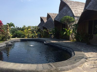 Photo for Ubud Ricefields cottages with Mtn Views!