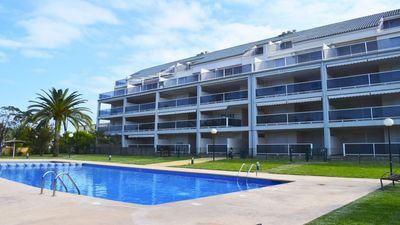 "Photo for Apartment a short walk away (186 m) from the ""Playa de les Marines"" in Dénia with Pool, Parking, Washing machine (767858)"