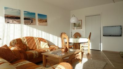 Photo for Vacation apartment with a view of the North Sea