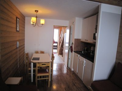 Photo for At the foot of the slopes, beautiful duplex, 2 bedrooms, 6 people, 7th floor, parkin