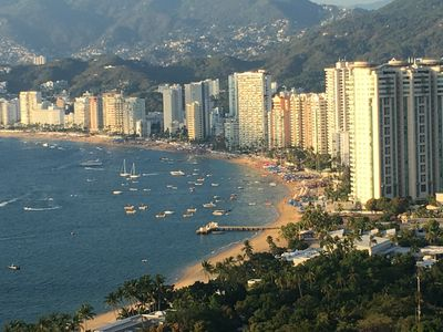 Photo for Incredible views of the Acapulco Bay with all day breezes
