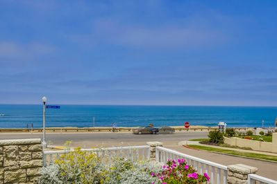 Panoramic Pacific Ocean View from Front Yard