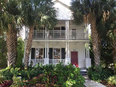 Photo for Charming Key West Style Home W/Heated Pool & Guest Cottage In Historic Delray Be