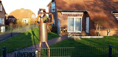 Photo for Norddeich modern semi-detached house in a quiet location, garden