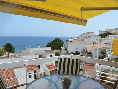 Photo for Feel the sea breeze from the terrace of Tossa de Mar's apartment