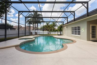 Enjoy hours of outdoor fun in your own private pool