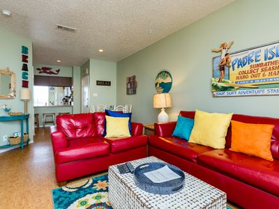 Photo for Beautiful 1st floor Condo just off the Beach and Beautifully Decorated!
