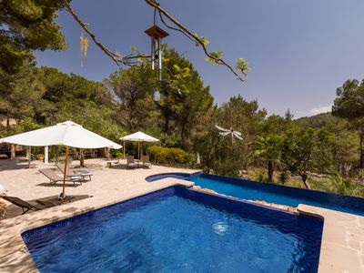 Photo for Secluded Luxury Villa in a fantastic location with large private grounds and AC.