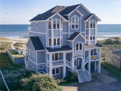 Photo for Relaxing Oceanfront Hatteras Getaway-Pool, HotTub, Game Room, Boardwalk to Beach