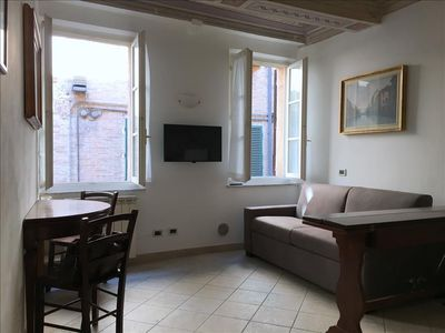Photo for Apartment in the center of Siena with Balcony, Washing machine (653076)