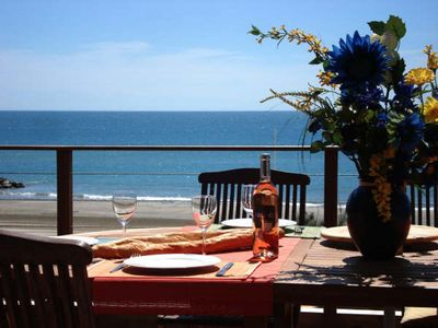 Photo for Apartment T3 85 m2 in front of the sea