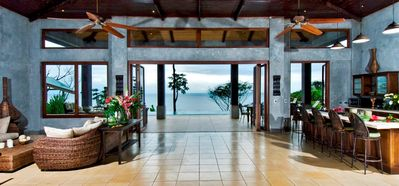 Photo for Villa Ventanas - Front Row Ocean View - Luxury 6 Bedroom - Walk to the Beach!