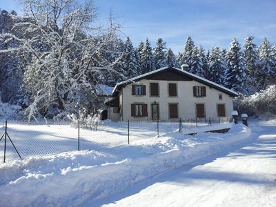 Photo for Apartment 4 people in a house, garden, quiet, in Gerardmer