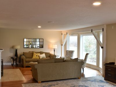 Photo for Wine Country Getaway with Theater Room