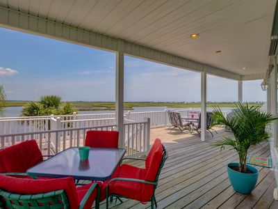 Photo for Vacation Paradise! Awesome Waterfront Home, Unbelievable View Of Stump Sound!