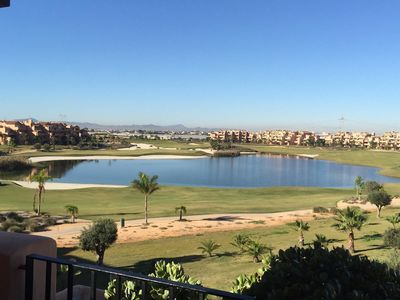Photo for Luxury Penthouse Apt, Roof Terrace, Stunning Views, Golf Course, Mountains, Sea