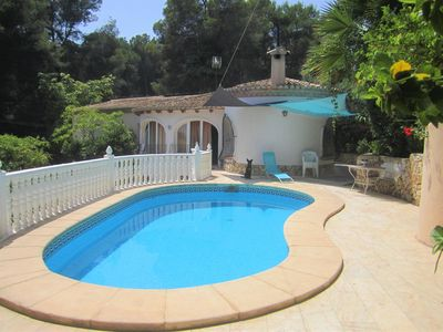 Photo for CHALET Eco, for 10 people, 5 bedrooms sea view pri pool, 500m Cala