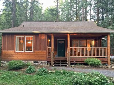 Photo for Vacation home 95GS Pet Friendly Cabin w/ Hot Tub  in Mt. Baker/ Glacier, Washington - 4 persons, 2 bedrooms