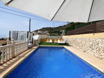 Photo for Villa 3 km from the sandy beach with guest house, private pool, 11 people