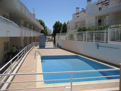Photo for 2 bedroom apartment with pool in Santa Luzia