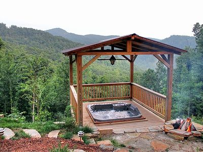Photo for New Hot tub Mountain Views, Hiking, Fishing, Close to Blue Ridge