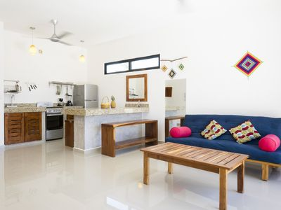Photo for In the heart of Tulum town - Apt 4