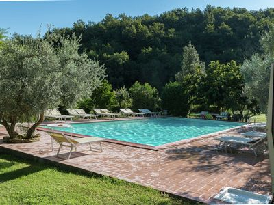 Photo for Atmospheric apartment in authentic house near beautiful Sasso Pisano