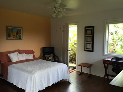 Photo for Tranquil cottage in peaceful Kohala farm setting