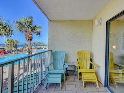 Photo for 1-Bedroom Beach-front Condo – Desirable Lower-Floor Condo
