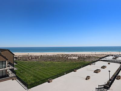 Photo for C410: 3BR End Sea Colony Oceanfront Condo | Private beach, pools, tennis ...