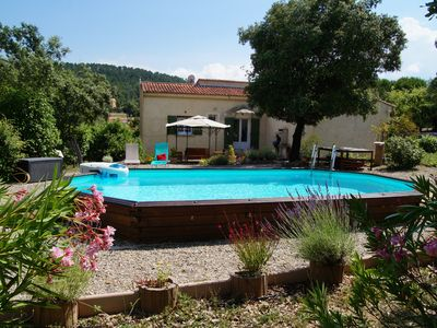 Photo for In nature. green Provence LE VAL house with pool