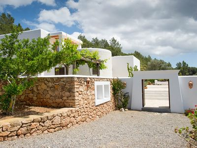 Photo for Sant Joan De Labritja: Beautiful modern detached house in the countryside