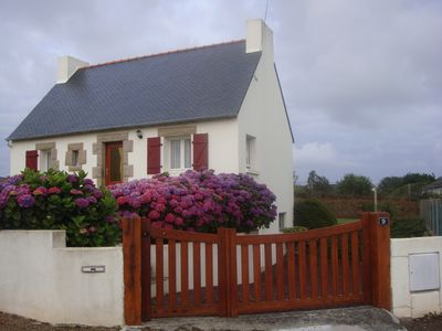 Photo for Traditional Breton House in Perros-Guirec in a quiet dead-WIFI